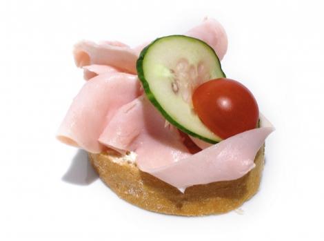 Chlebíček šunkový