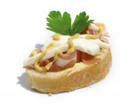 Chlebíček prosciutto