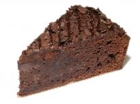 Čokoládová torta (rez)