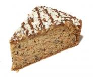Mrkvová torta (rez)
